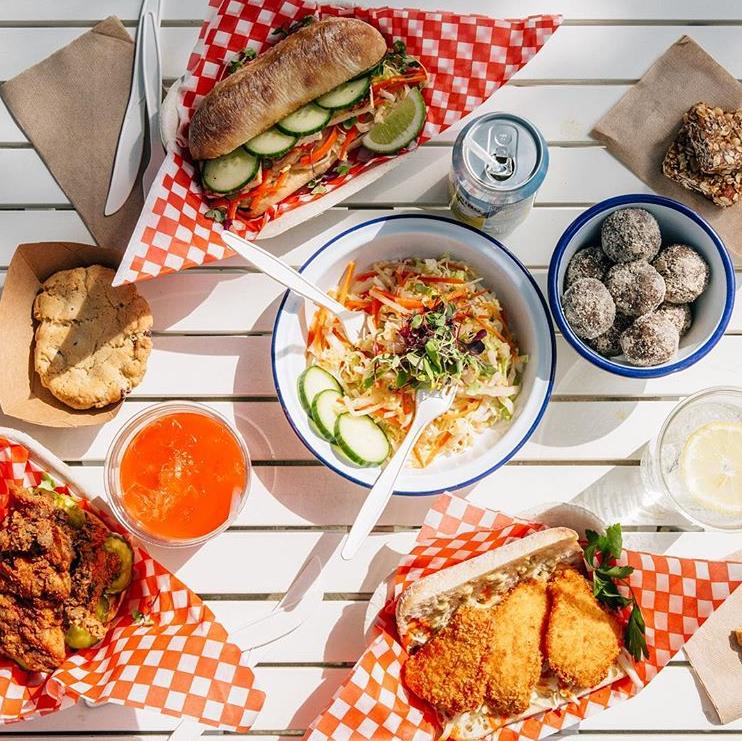 vegetarian vegan catering food truck